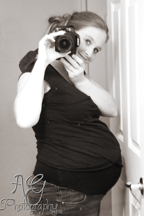 34 Weeks 3 Days BW edited 1 ... going to speak English, get drunk every night, and go to the beach?